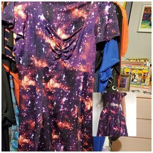 Hot Topic Galaxy Dress